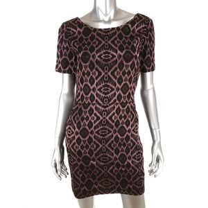 Mackage Collection Size 8 Mini Sheath Dress Merlot